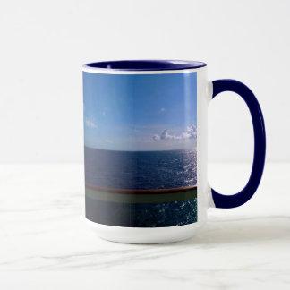 Bleu d'océan mug