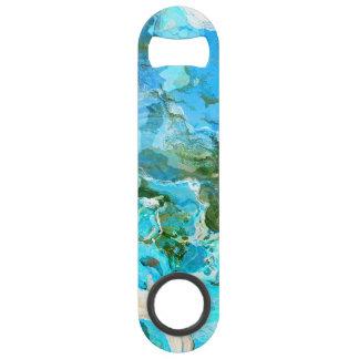 Bleu d'océan tropical de turquoise et vert d'algue