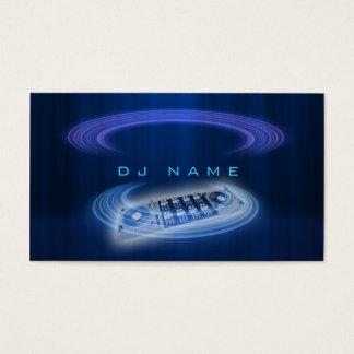 Bleu du DJ Cartes De Visite