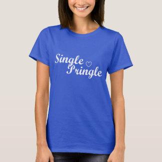 """Bleu du T-shirt des femmes """"de Pringle simple"""""""