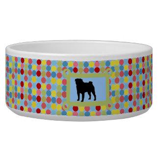 Bleu élégant de bol d'aliments pour chiens de carl écuelles pour chien