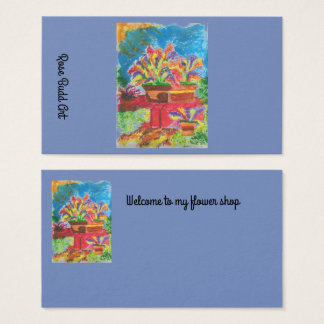bleu-foncé standard de carte de visite