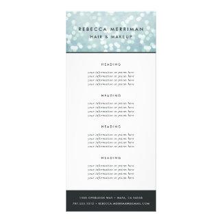 Bleu glacier Bokeh évaluation ou services de | Cartons D'informations 10 Cm X 22,9 Cm