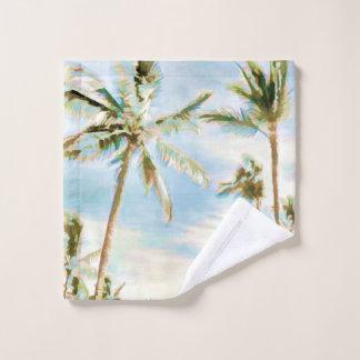 Bleu hawaïen vintage de plage/ciel de PixDezines