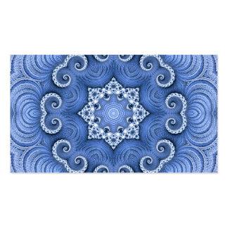 Bleu impressionnant de Kaleido 07 Modèle De Carte De Visite