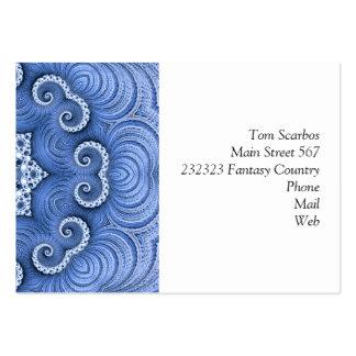 Bleu impressionnant de Kaleido 07 Cartes De Visite Professionnelles