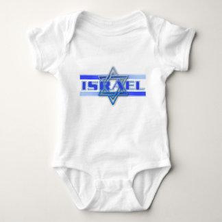 Bleu juif et blanc de l'Israël d'étoile de David Body