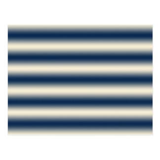 Bleu marine au gradient jaune arénacé carte postale