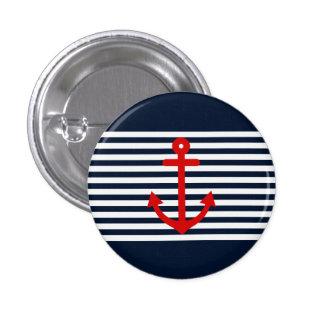 Bleu marine nautique badge