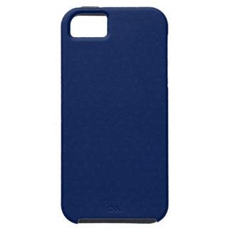 Bleu marine royal personnalisable moderne coque iPhone 5 Case-Mate