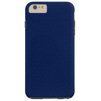 Bleu marine royal personnalisable moderne, coque iPhone 6 plus tough