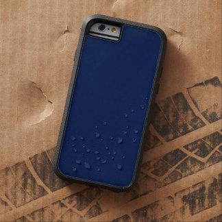 Bleu marine royal personnalisable moderne, coque iPhone 6 tough xtreme