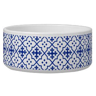 Bleu marocain gamelle pour chien