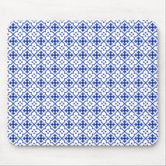 Bleu marocain tapis de souris