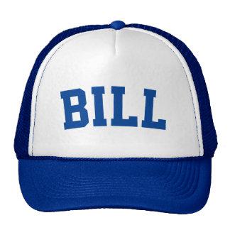 Bleu nommé fait sur commande personnalisé casquette trucker