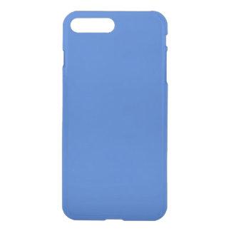 Bleu personnalisable moderne de saphir coque iPhone 7 plus
