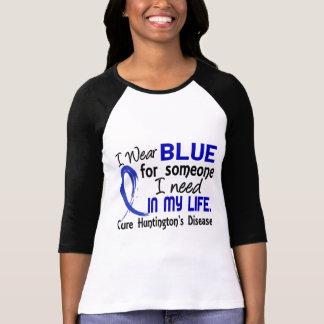 Bleu pour quelqu'un j'ai besoin de la maladie de t-shirt