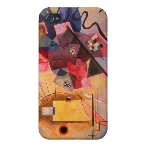Bleu rouge jaune coque iPhone 4