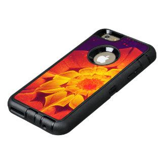 Bleu royal, rouge, et marguerite de Gerbera de Coque OtterBox iPhone 6 Et 6s Plus