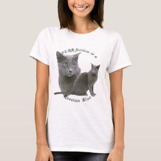 Bleu russe de PURRfection T-shirt