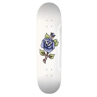 bleu simple de rose de bleu de bluerose skateboard 21,6 cm