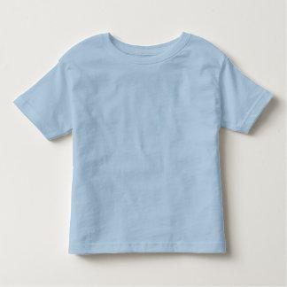 Bleu simple, T-shirt de sonnerie d'enfant en bas