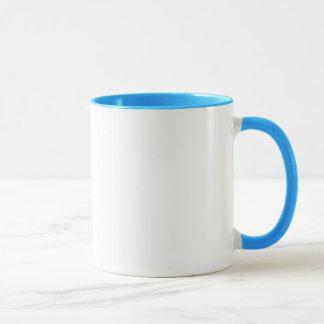 Bleu tasse de sonnerie de 11 onces