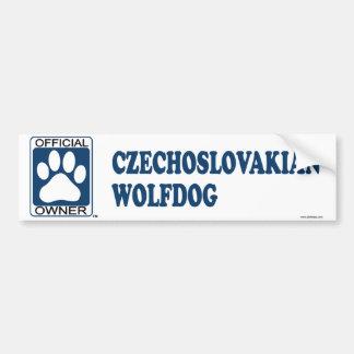 Bleu tchécoslovaque de Wolfdog Autocollant Pour Voiture