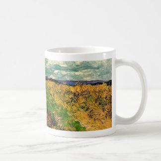 Bleuets de champ de blé de Van Gogh, beaux-arts Mug