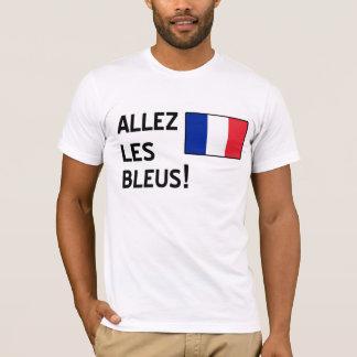 Bleus d'Allez Les T-shirt