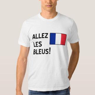 Bleus d'Allez Les T-shirts
