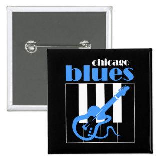 Bleus de Chicago Badges