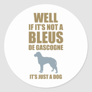 Bleus de Gascogne Adhésif Rond