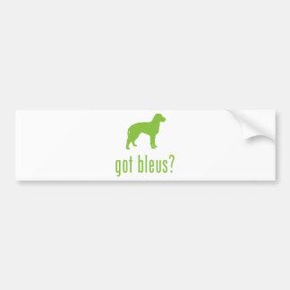 Bleus de Gascogne Autocollant Pour Voiture