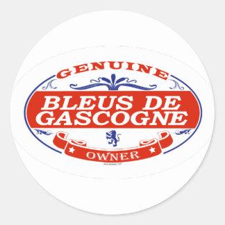 Bleus De Gascogne Sticker Rond