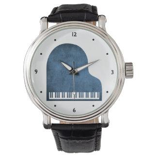 Bleus de piano à queue montres