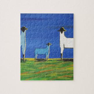 Bleus layette puzzle