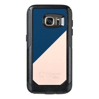 bloc en pastel moderne élégant de couleur de bleu coque OtterBox samsung galaxy s7