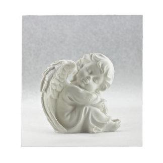 Bloc-note Aile blanche de ciel d'ange belle