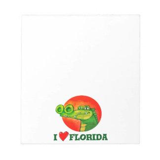 Bloc-note amour drôle la Floride de la bande dessinée i de