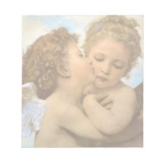 Bloc-note Anges victoriens vintages, premier baiser par