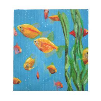 Bloc-note Aquarium
