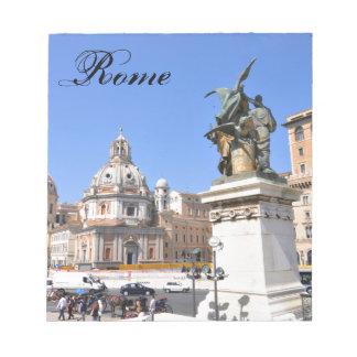 Bloc-note Architecture italienne à Rome, Italie