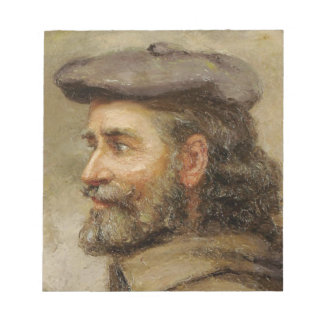 Bloc-note ART | Robert P. Kilbert (autoportrait)