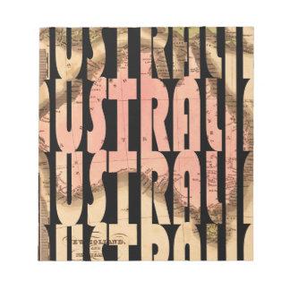 Bloc-note australia1740
