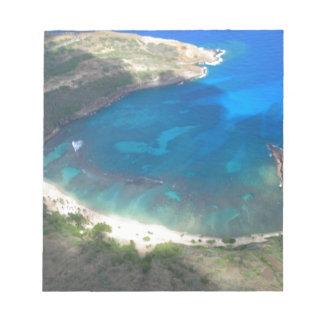 Bloc-note Baie Hawaï de Hanauma