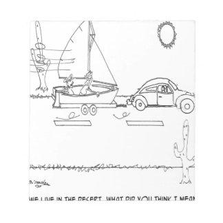 Bloc-note Bande dessinée 0430 de canotage