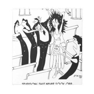 Bloc-note Bande dessinée 9193 de mariage