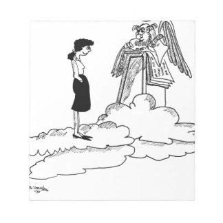 Bloc-note Bande dessinée 9527 d'assurance