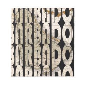 Bloc-note barbados1758